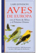 AVES DE EUROPA, CON EL NORTE DE FRICA Y EL PRXIMO ORIENTE, Jonsson
